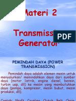 2-Transmission of Generator