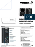 Work Studio 50A 50A Manual