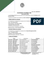 Calendario Académico 2018