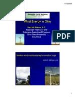 Wind Energy Reeder