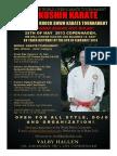 World Karate Tournament Honor Jon Bluming