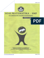OSN MATEMATIKA SMP 2013.pdf