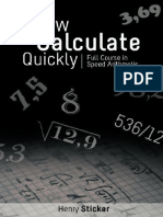 How to Calculate Quickly - Full Course in Speed Arithmetic.pdf