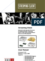 Streaming Client Manual v150 20080124
