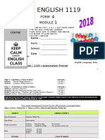 MODULE 1 FORM 4 2018 Introduction