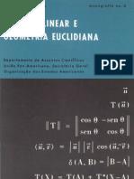 Algebra Lenear e Geometia Euclidiana.martins Rodrigues
