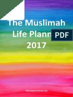 Muslimah Life Planner 2017
