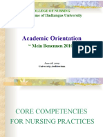 Nursing Core Competency