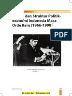 Bab 4 Sistem Dan Struktur Politik Ekonomi Indonesia Masa OrdeBaru (1966-1998)