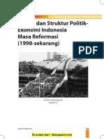 Bab 5 Sistem Dan Struktur Politik Ekonomi Indonesia Masa Reformasi (1998-Sekarang)
