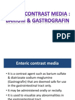 radiology _ Barium contrast