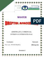 Arbitrajul Comercial Intern Si International 1