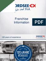 NORDSEE Franchise Information