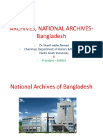 Archives, National Archives-bangladesh Nu