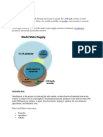 Introduction Desalination
