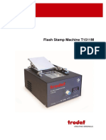 User Manual Flash Machine T1511M En