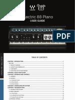 Electric 88 manual