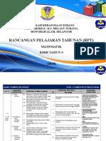 RPT MT Tahun 4 2018 by SK Subang