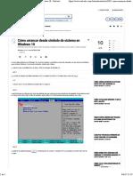 Cómo Arrancar Desde Símbolo de Sistema en Windows 10 - Solvetic 1
