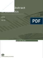 Annual Abstract Statistics Volume-1