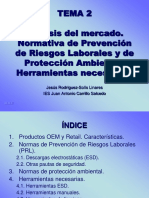TEMA 2 Normas de PRL y protección ambiental