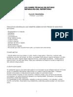 Técnicas de Estudio - Luis Orden CSM Sevilla