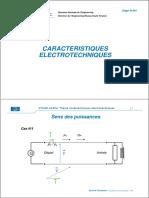4.b. Caractéristiques Electrotechniques
