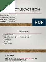 Ductile Cast Iron