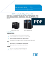 ZXUPS S Series Small Capacity Tower UPS