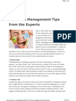 37 Stress Management Tips From the Experts