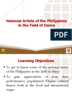 5 National Artists of the Philippines in the Field of Dance