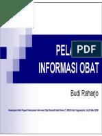 Microsoft Powerpoint - Pelayanan Informasi Obat Budi