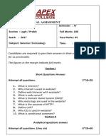 Internet technology question paper