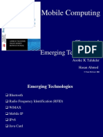 Emerging Wireless Technology