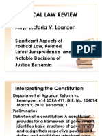 Political Law Review-Atty Loanzon