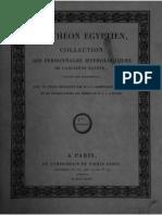 Champollion - Panthéon Égyptien, Collection des personnages mythologiques de l'Ancienne Égypte