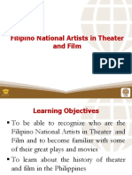 6 Filipino National Artists in Theater and Film