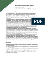 Seminario de Alfabetización Inicial en Lectura, Escritura y Literatura (2018) Tramo I