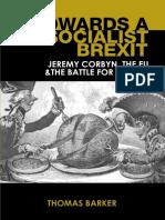 Towards a Socialist Brexit