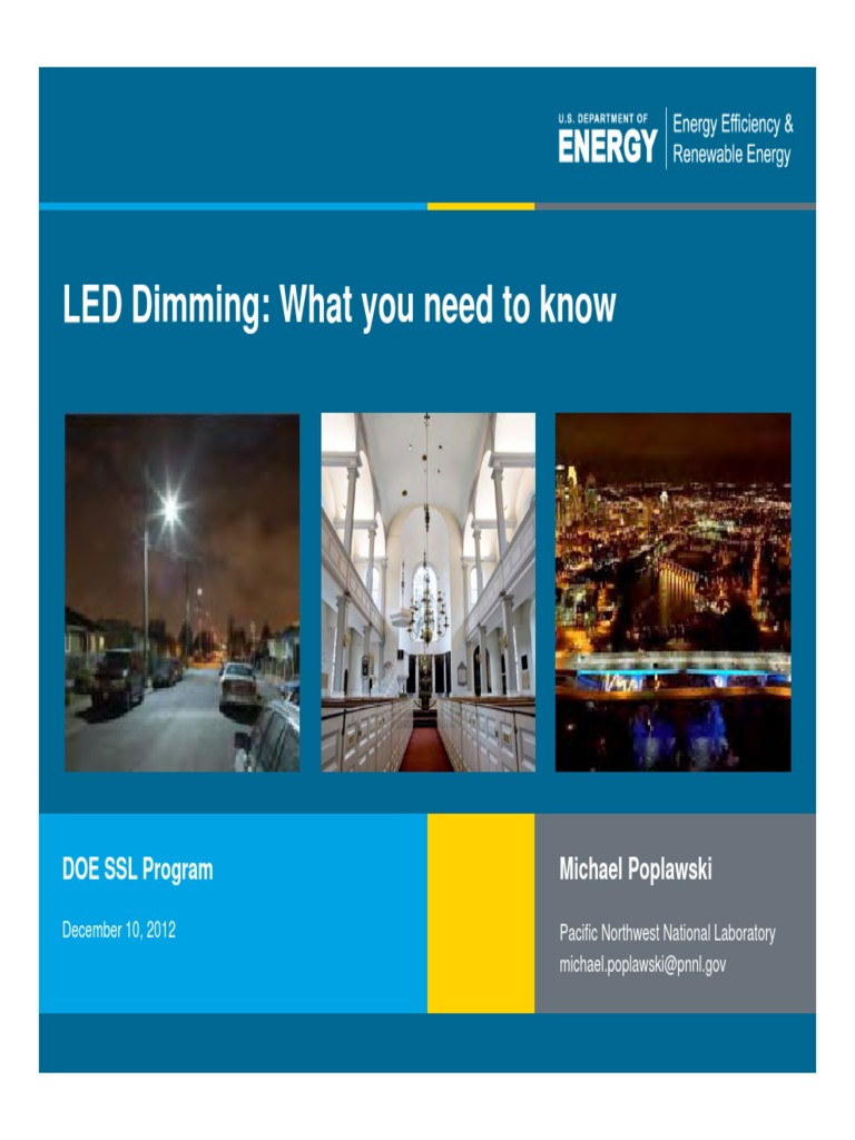 dimming_webcast_12-10-2012.pdf | Light Emitting Diode | Incandescent ...