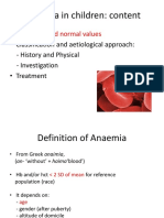11. Anaemia in Children