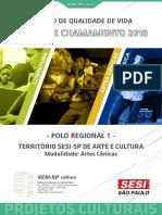 Território SESi-SP de Arte e Cultura - Artes Cênicas - Polo 1