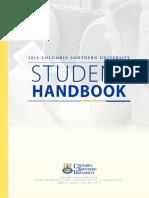 Student Handbook 1-27-16