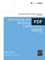 S. L. Blair, P. N. Claster, S. M. Claster Eds. Technology and Youth Growing Up in a Digital World