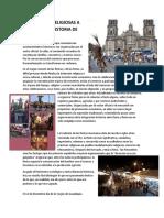 Festividades Religiosas a Traves de La Historia de Mexico