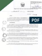 Directiva 023 2016 Osce Cd_resol 274 2016 Osce Pre