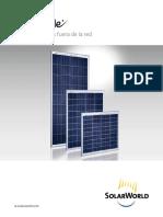 Panel Solar Brochure Es