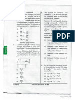 JEE Mains Question Paper I 2013