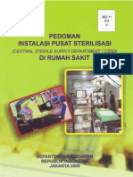 Buku Pedoman Instalasi Pusat Sterilisasi Di RS-Kemenkes