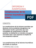 Power Pointo de Complicaciones en TRAUMATOLOGIA